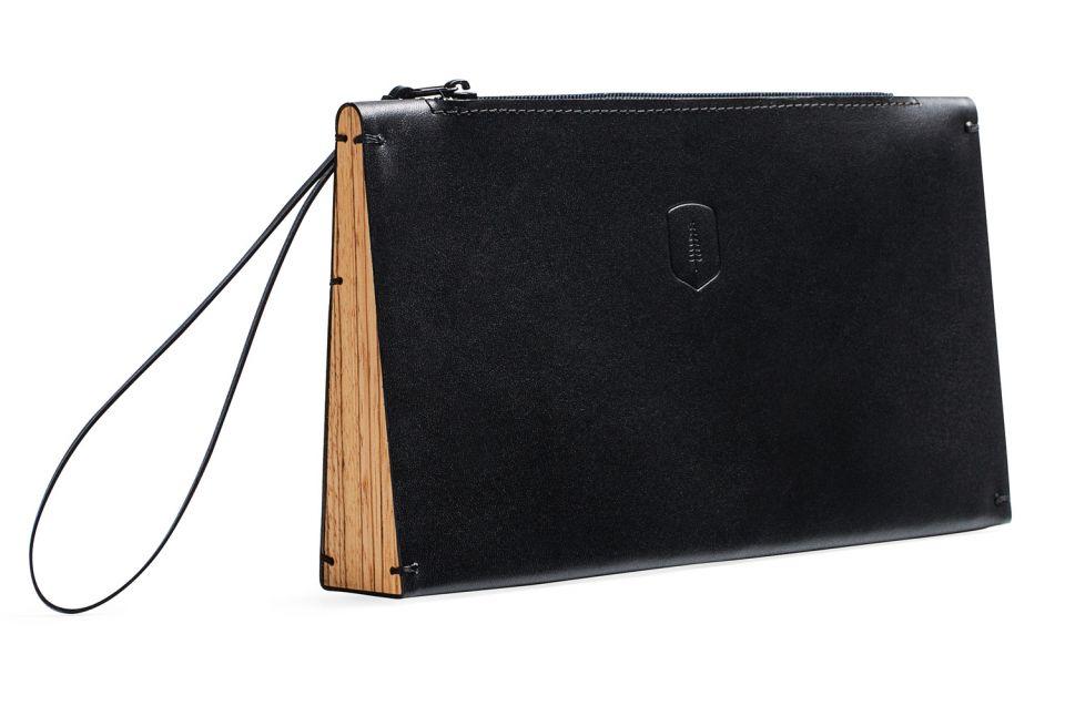Clutch-laukku Api Clutch Bag aidosta nahasta  77704e43bc