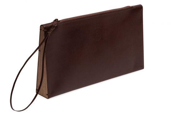 Clutch-laukku Brunn Clutch aidosta nahasta  8509964fbe