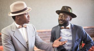 Behind the scenes of the LouxMac Legacy bow tie