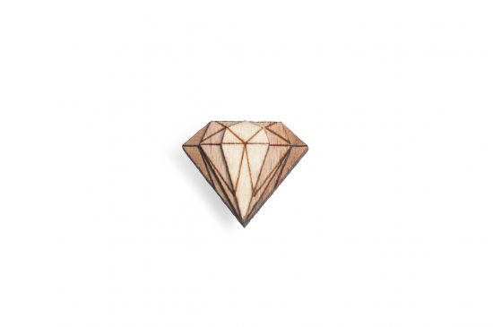 BeWooden - Diamond Lapel