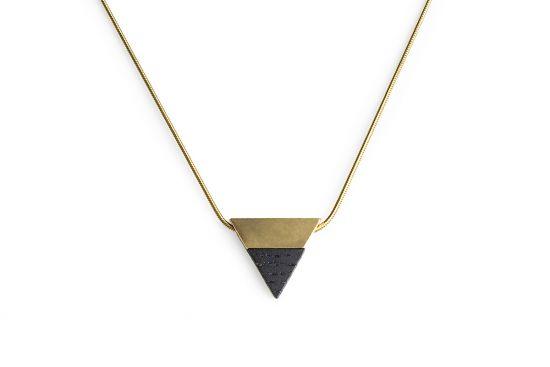 BeWooden - 0 Vespa necklace triangle