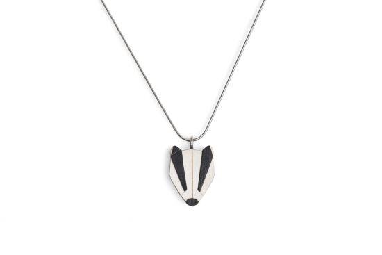 BeWooden - 0 Badger Pendant