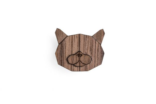 British Cat Brooch