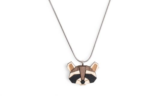 Raccoon Pendant