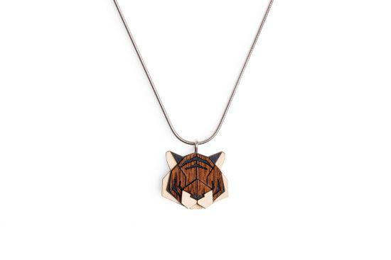 BeWooden - Tiger Pendant