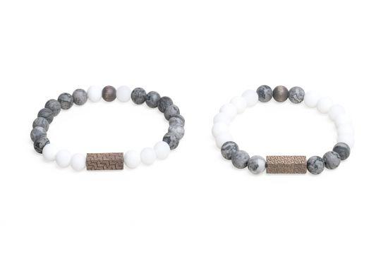 Viame & White Couple Bracelets
