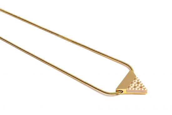 BeWooden - Virie Necklace Triangle