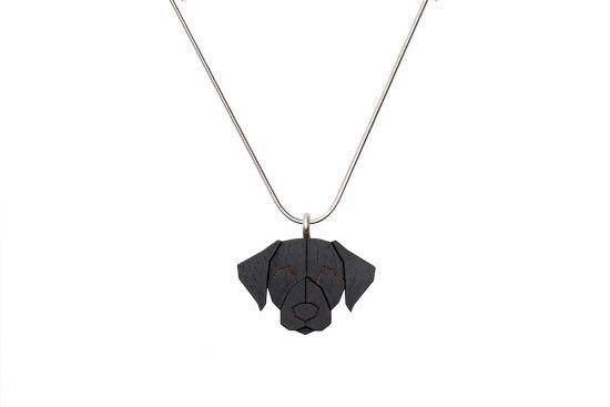 Black Labrador Pendant