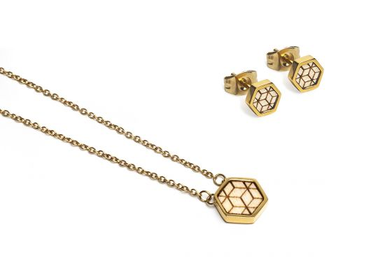 BeWooden - Virie Hexagon Set