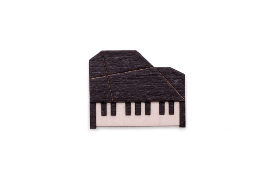 Piano Brooch