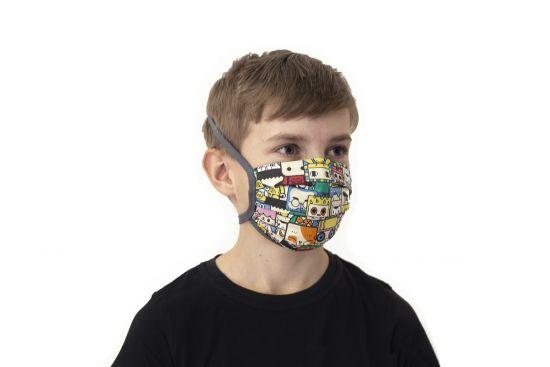 BeWooden - Cartoon kids mask model