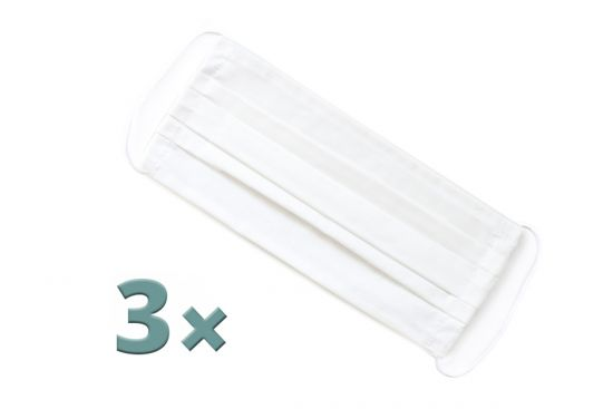 BeWooden - 3 white mask