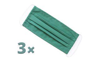 3x Carbon Green Maski