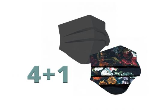 BeWooden - 4+1 Fashion Mask