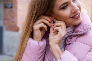 Rea Earrings Rectangle