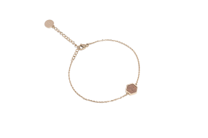 Aurum Hexagon Bracelet